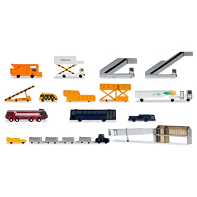 Daron Herpa Ground Equipment New Colors Building Kit (19-Piece): Toys & Games