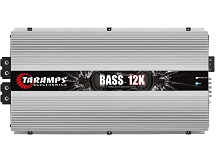 Taramps Bass 12K Bass12K 12000 Watts-RMS Car Amplifier Full Range Monoblock 1-Ohm