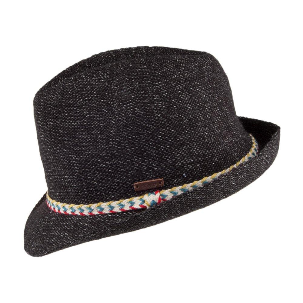 6acbb4af6bb Barts Hats Quest Trilby Hat - Black Medium Large  Amazon.co.uk  Clothing