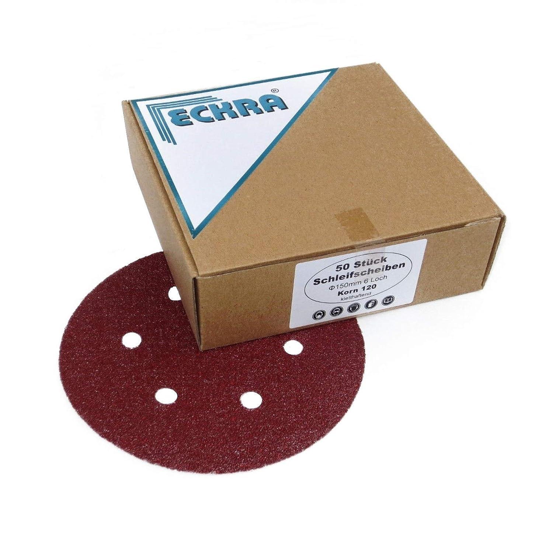 50x Klett Schleifscheiben 225mm P80 Schleifpapier Trockenbauschleifer Exzenter