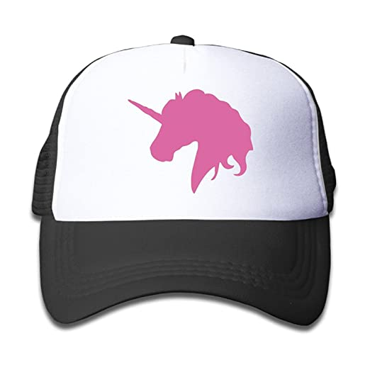 09d035dd8ae8f Amazon.com  NVJUI JUFOPL Kids Pink Unicorn Polo Horse Trucker Hats ...