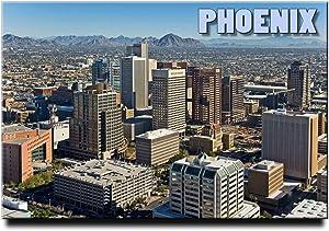 Phoenix Fridge Magnet Arizona Travel Souvenir