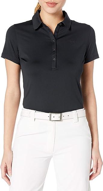 Under Armour Polo de Manga Corta Zinger - Camisa Polo de Golf Mujer