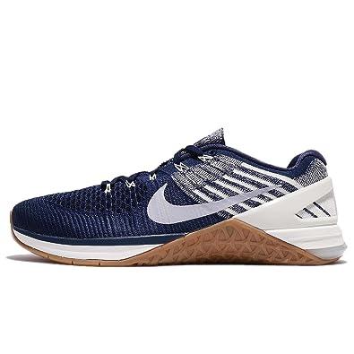 Nike Men's Metcon Dsx Flyknit, COLLEGE NAVY/WOLF GREY-SAIL, ...