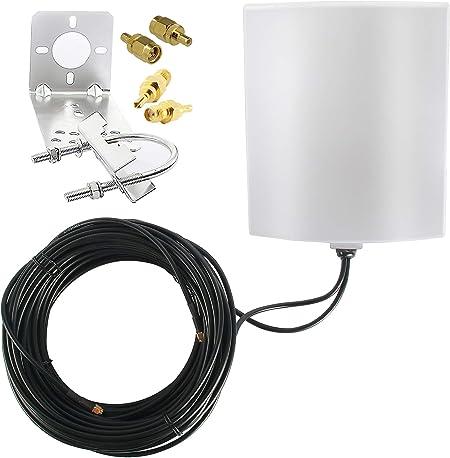 KASER Antena 4G LTE Exterior Mimo Direccional 698-2700 MHz ...