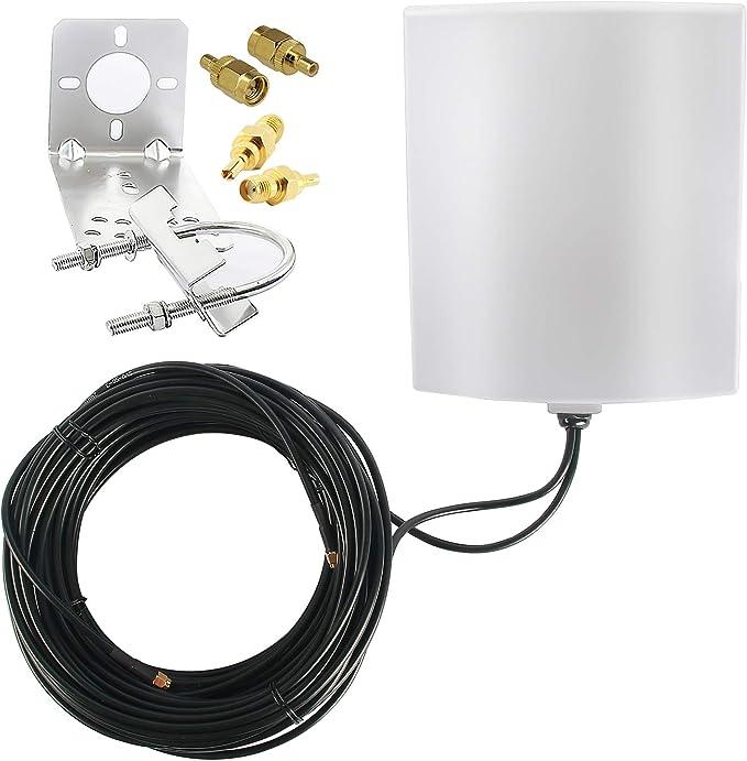 Kaser 4g Lte Antenne Outdoor Extern Mimo Richtantenne Elektronik