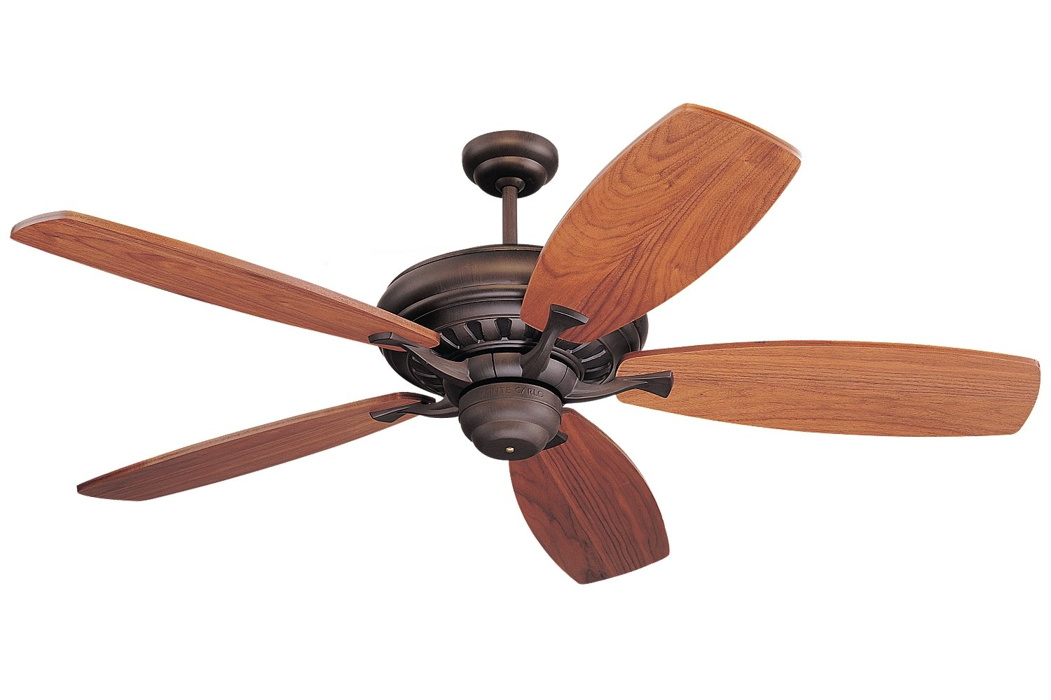 Monte Carlo 5MXRB, Maxima Ceiling Fan with MC5B100 Blades,54'',Roman Bronze