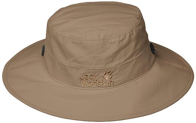 3bc82ec40 Jack Wolfskin Unisex Supplex Mesh Hat Crushable Boonie Bucket UV ...