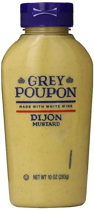 amazon com grey poupon dijon mustard 10 ounce bottle pack of 8