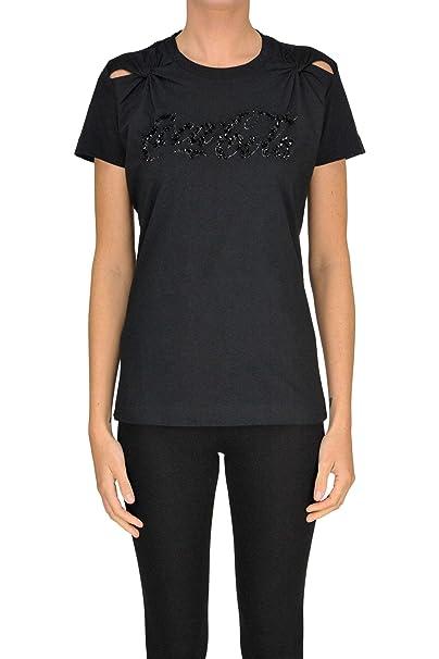 Pinko T-Shirt Donna MCGLTPS000005057E Cotone Nero  Amazon.it  Abbigliamento c7e542837f7