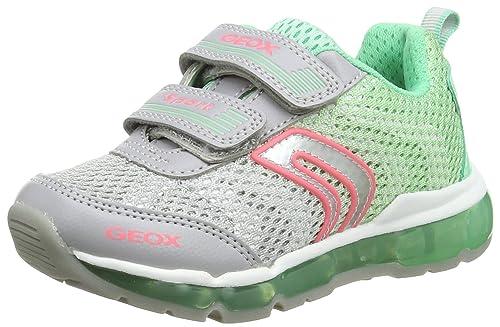GeoxAndroid A - Zapatillas chica , color Verde, talla 27 EU: Amazon.es: Zapatos y complementos