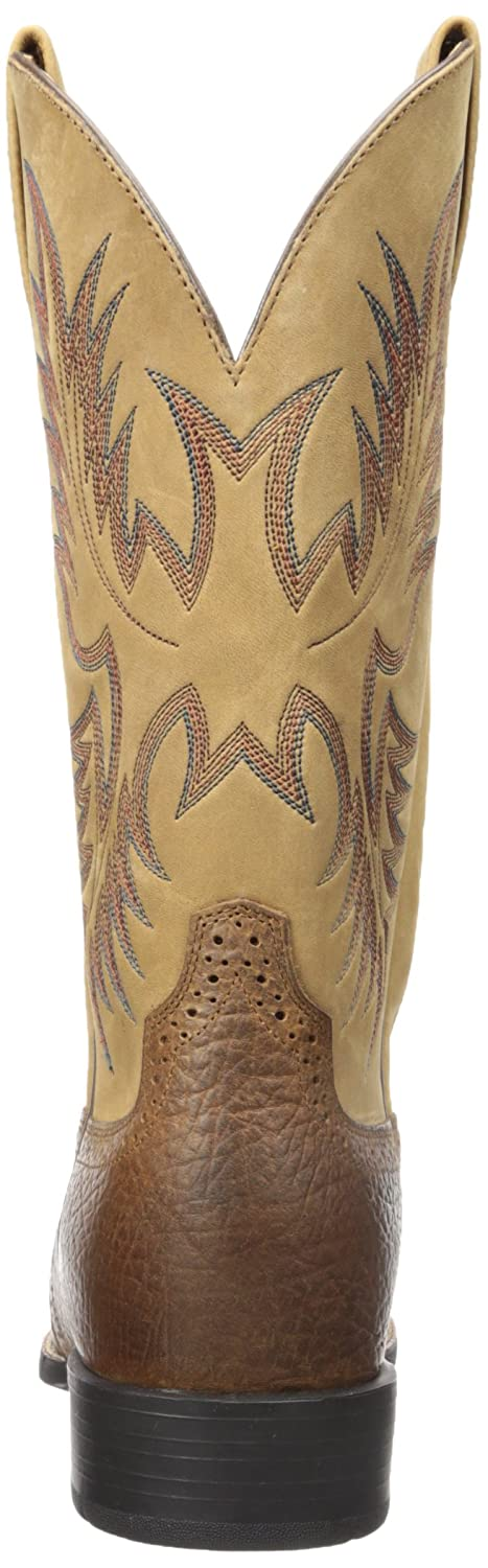 Ariat Men's B0012KBFX8 Heritage Stockman Western Boot B0012KBFX8 Men's 9.5 E US|Tumbled Brown/Beige beafca