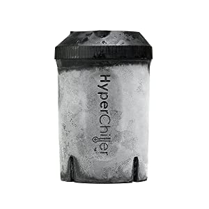 HyperChiller HC1 Long Lasting Ice Cold Beverage Cooler – Chills 12.5 oz Brewed Coffee, Wine, Tea, Juice, Black