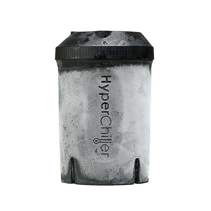 HyperChiller HC1 Long Lasting Ice Cold Beverage Cooler – Chills 12.5 oz Brewed Coffee, Wine, Tea, Juice, Black