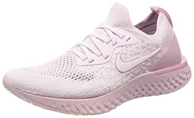 Nike Womens Epic React Flyknit Fabric Low Top Lace Up Running Sneaker