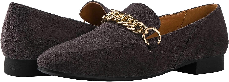 GLOBALWIN Women's Slip-on Loafers Casual Walking Shoes for Women