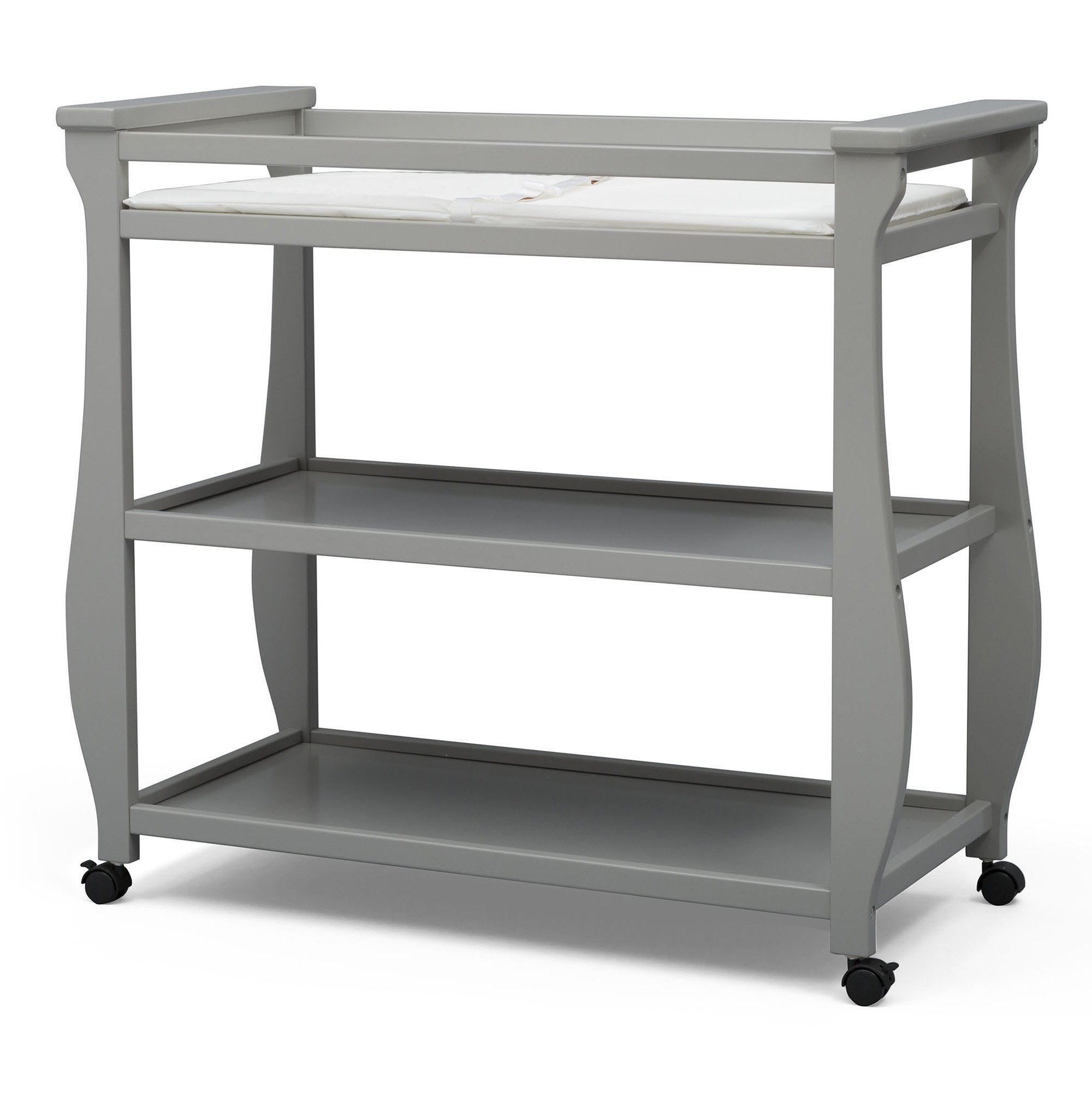 Delta Children Lancaster Changing Table, Grey by Delta Children (Image #1)