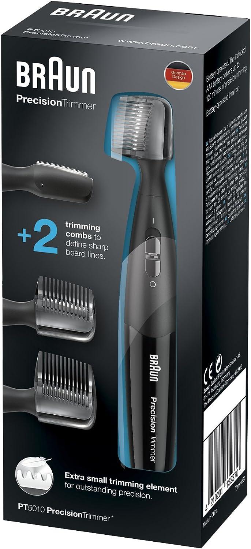 Braun PT 5010 - Recortadora de barba de precisión, color negro ...