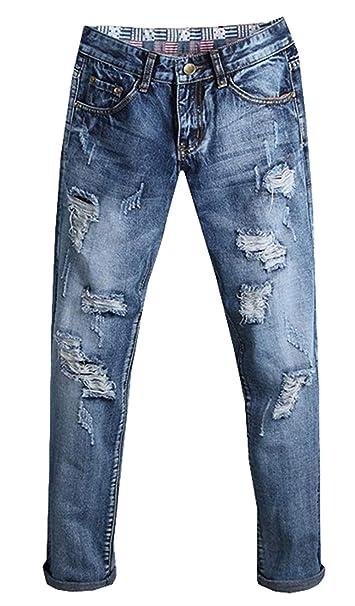 Pantalones Largos Vaqueros De Mezclilla Pantalones Bermudas ...
