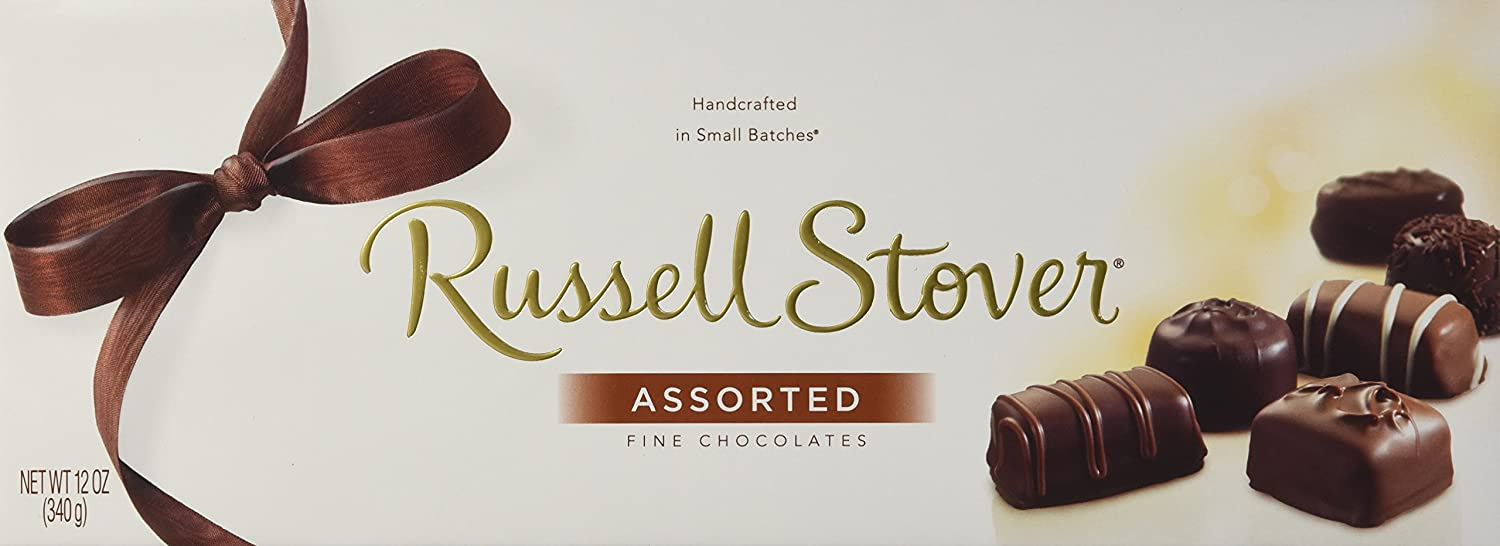 Amazon.com : Russell Stover Assorted Fine Chocolates : Chocolate ...