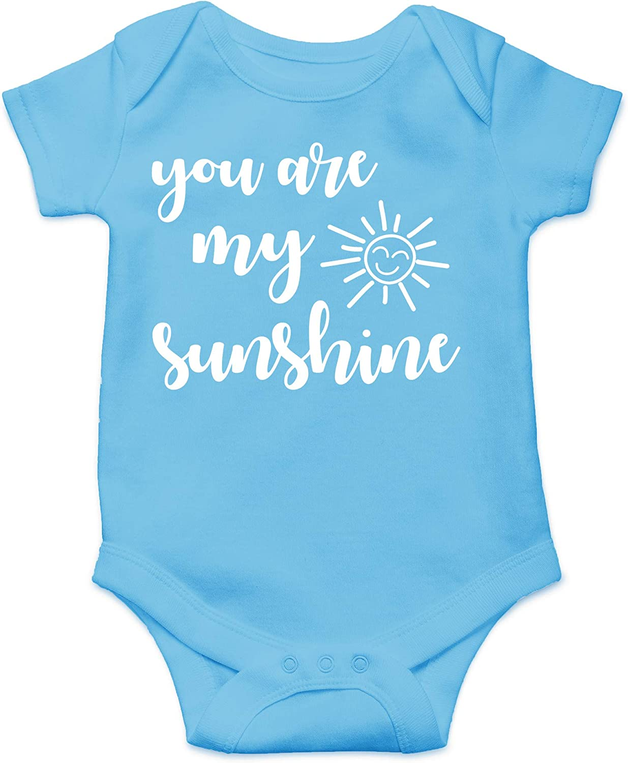 You are My Sunshine - Funny Novelty Newborn Girl or Boy Outfit - Cute Infant One-Piece Baby Bodysuit