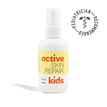 Kids Active Skin Repair Spray– The Safe, Non-Toxic & Natural Kids First Aid  Spray for Minor cuts,