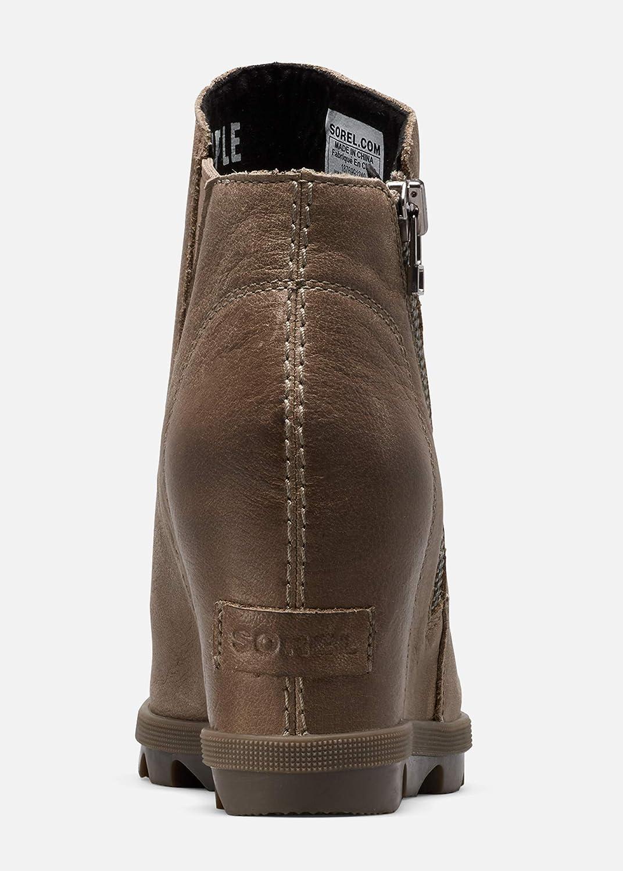 Sorel Women\'s Joan of Arctic Wedge Boots Ash Brown