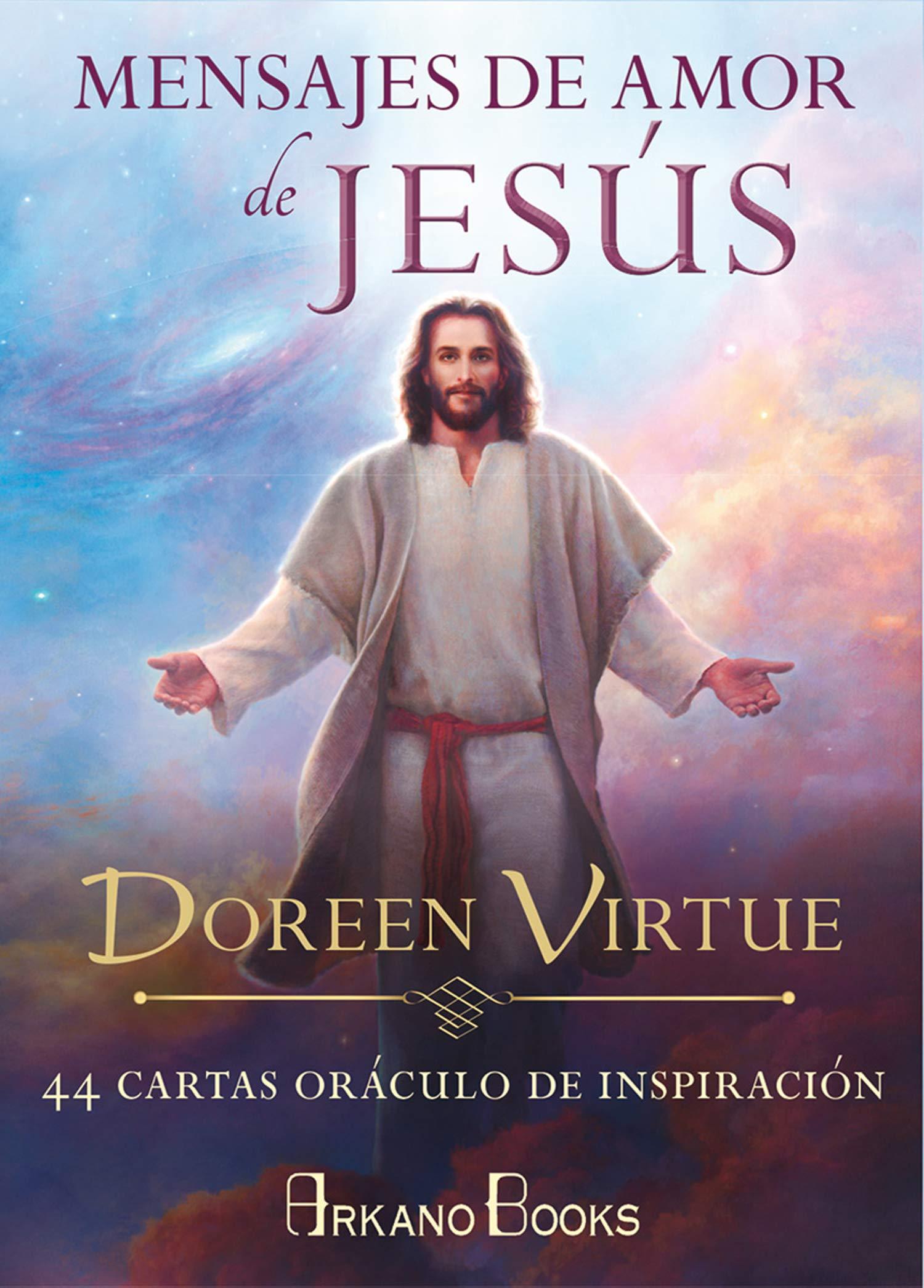 Mensajes de amor de Jesús: 44 cartas oráculo de inspiración ...