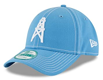 Image Unavailable. Image not available for. Colour  Houston Oilers New Era  9Forty NFL  quot 4th Down quot  Throwback Adjustable Hat 04e959a29fc7