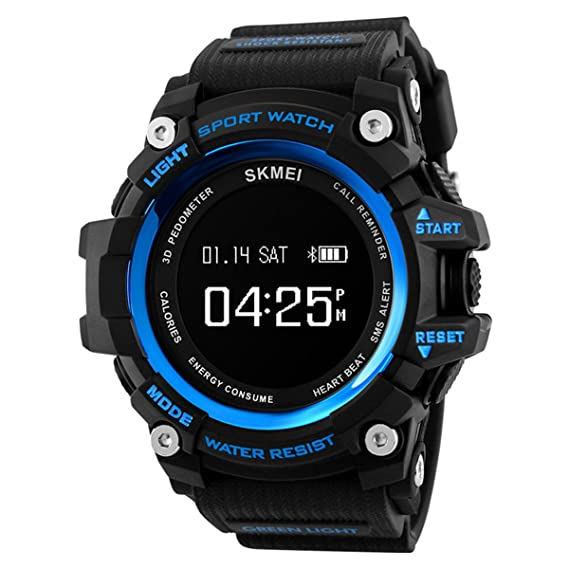 Amazon.com: Men Smart Watch Fashion Sport Watches Pedometer ...