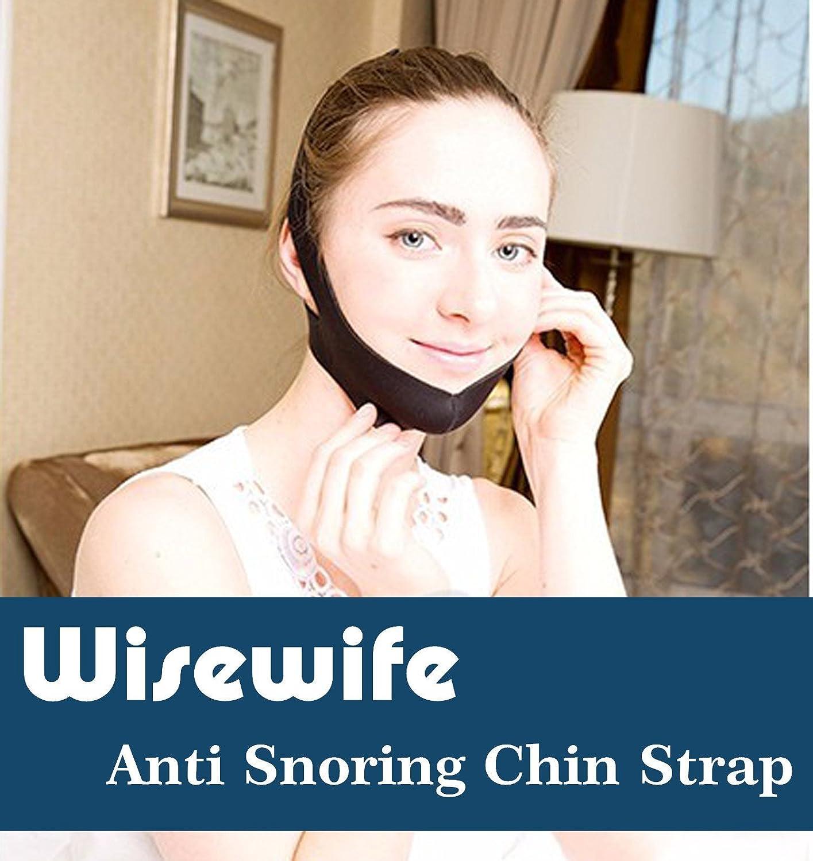 Correa de barbilla antironquidos, la solución prémium para dormir y evitar ronquidos, una ayuda para dormir segura, simple y eficaz, ajustable para hombres, ...