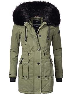 c1023e28fc2a Marikoo Rose Ladies  Winter Coat Winter Parka 8 Colors XS-XXL ...
