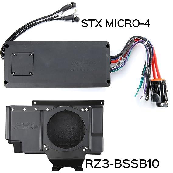 Wet sonidos y SSV funciona para Polaris RZR 2014 + XP1000 3 ...