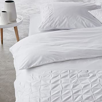 Essenza Ines Perkal Bettwäsche White 135x200 1 X 80x80 Amazon