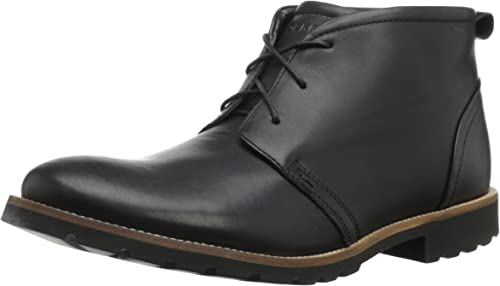 Rockport Men's Charson Lace Up Boot,Black,13 W US: