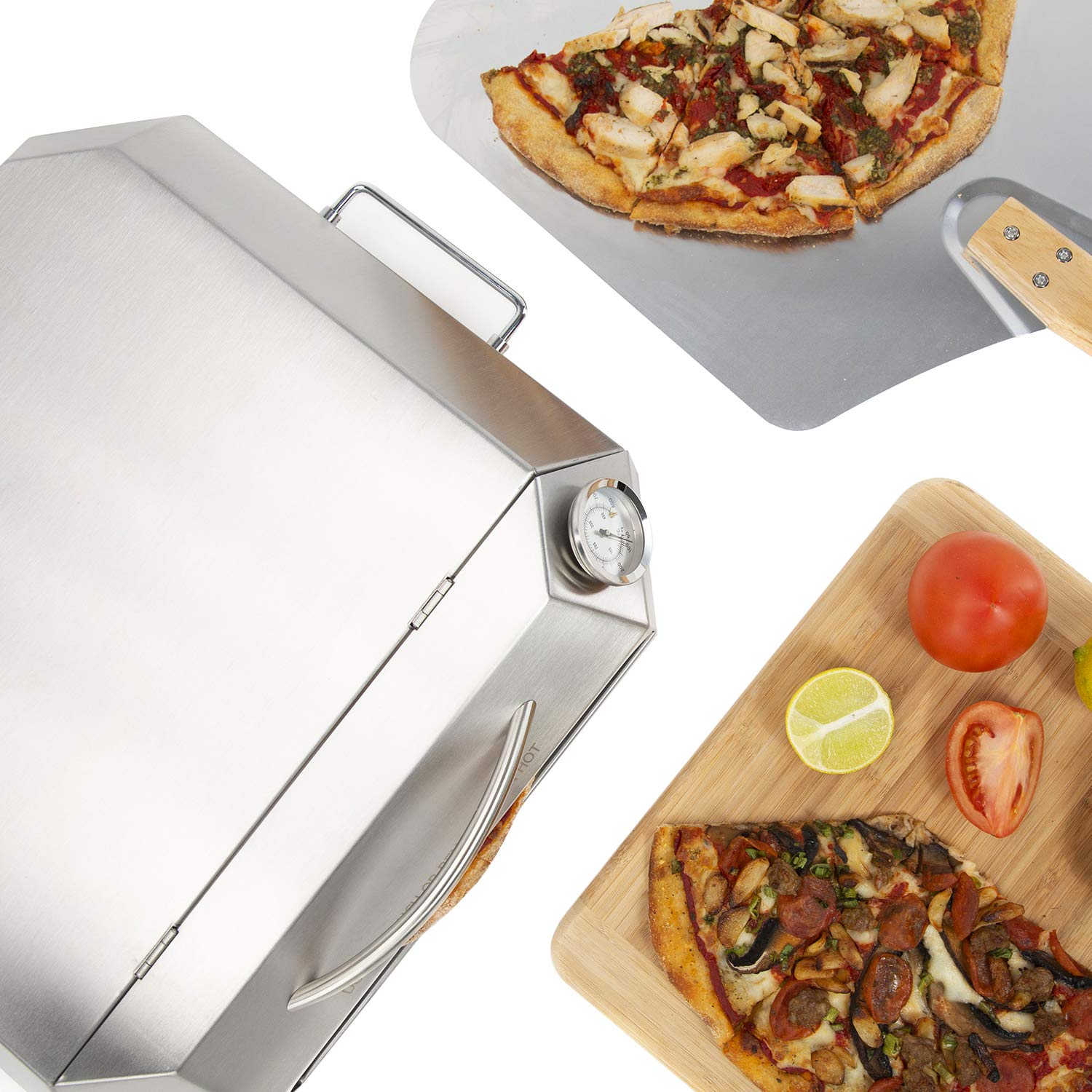 only fire Universal Stainless Steel Pizza Oven Kit Fits for Any Gas Grilll by only fire (Image #2)