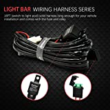 LED Light Bar Wiring Harness Switch Relay