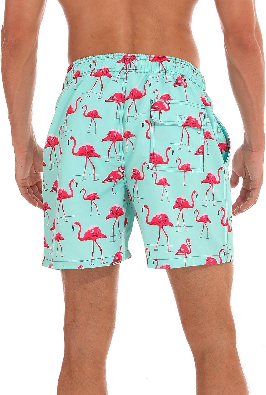 NEW Boys Swim Trunks XS 4-5 Bathing Suit Shorts Gray Green Surf Board Beach