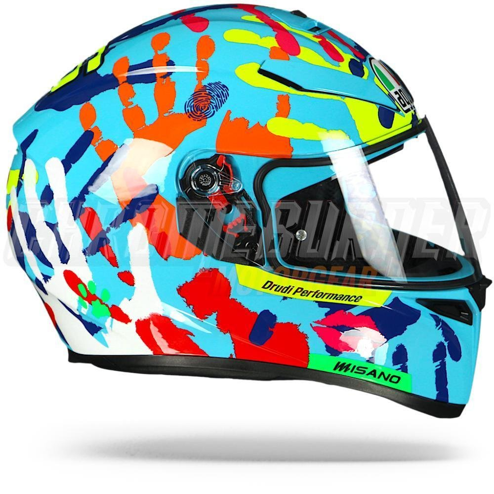 agv k 3 sv misano 2014 motorcycle helmet k3 sv valentino rossi