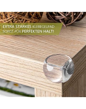 Ecken- & Kantenschutz 8x Tischkantenschutz Kinder Eckenschutz Kantenschutz Kantensicherung Glastisch Sicherheit