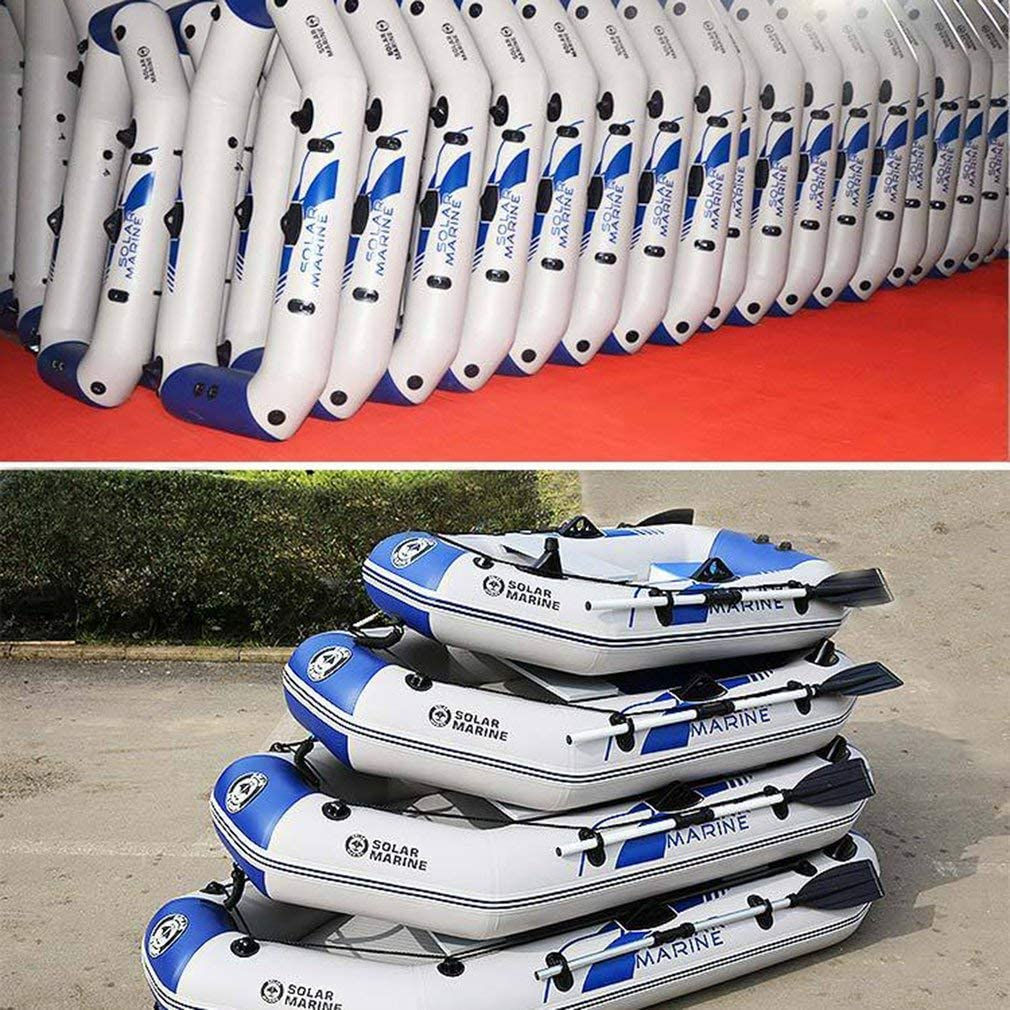 Canoe Outdoor Inflatable Boat Dinghy 2Pcs Kayak Paddle 136cm Detachable Aluminium Alloy Paddle Double Blade Kayak Raft Oar for Kayak