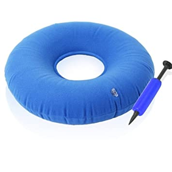 JYtop - Cojín inflable para silla de ruedas médicas, colchón de asiento antideslizante para evitar