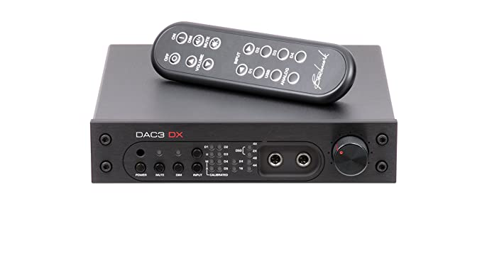 Amazon.com: Benchmark dac3 DX con mando a distancia, Negro ...