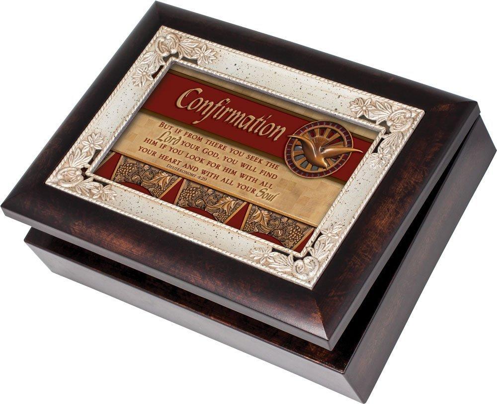 【特別セール品】 Cottage Garden Comfirmation Burlwood Art Thou With/ Silver Inlay Italian Style Music Box/ Jewellery Box Plays How Great Thou Art B00BRXBYO0, 北蒲原郡:ec88bd59 --- arcego.dominiotemporario.com