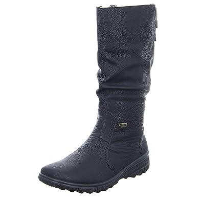 Rieker Damen Stiefel Z7073-00 schwarz 548864  Amazon.de  Schuhe ... f3becf2329