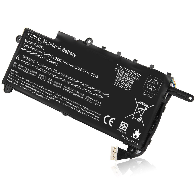 Bateria 751681-231 Pl02xl HP Hp Pavilion 11-n X360 Series 11