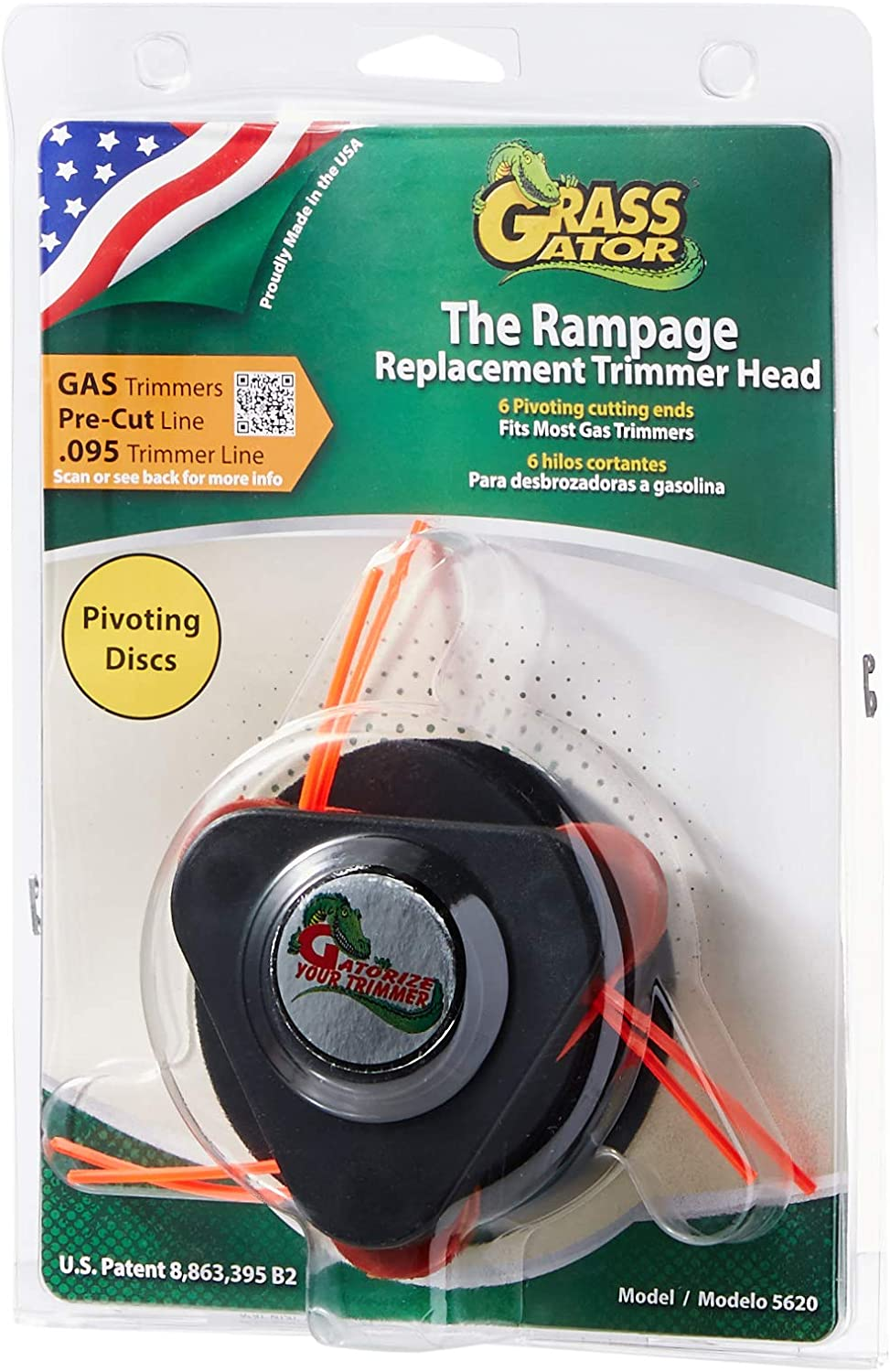 Grass Gator 5620 Rampage Replacement Trimmer Head
