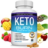 Keto Burn Pills Ketosis Weight Loss - 1200 Mg Ultra Advanced Natural Ketogenic Fat Burner Using Ketone Diet Boost Energy…