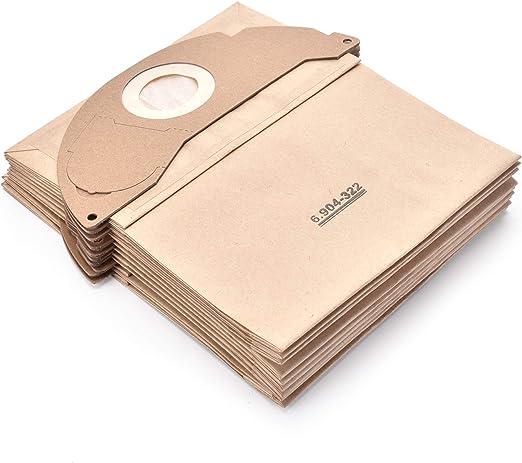 10 unidades 6.904-322.0 bolsas para aspiradora Kärcher: Amazon.es ...