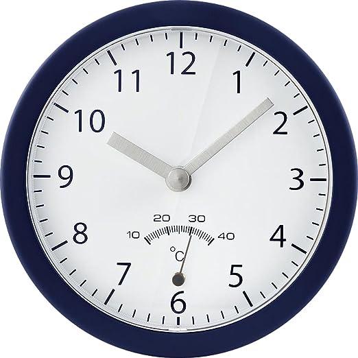 Tchibo Tcm Uhr Wanduhr Mit Saugnapf Badezimmeruhr Baduhr Badwanduhr Clock Bath Amazon De Kuche Haushalt